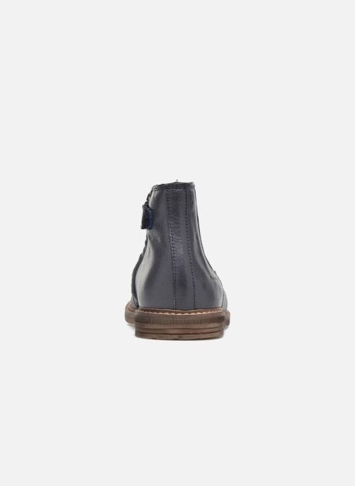Stiefeletten & Boots Pom d Api Retro Jodzip blau ansicht von rechts