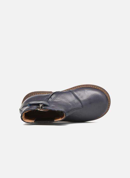 Stiefeletten & Boots Pom d Api Retro Jodzip blau ansicht von links