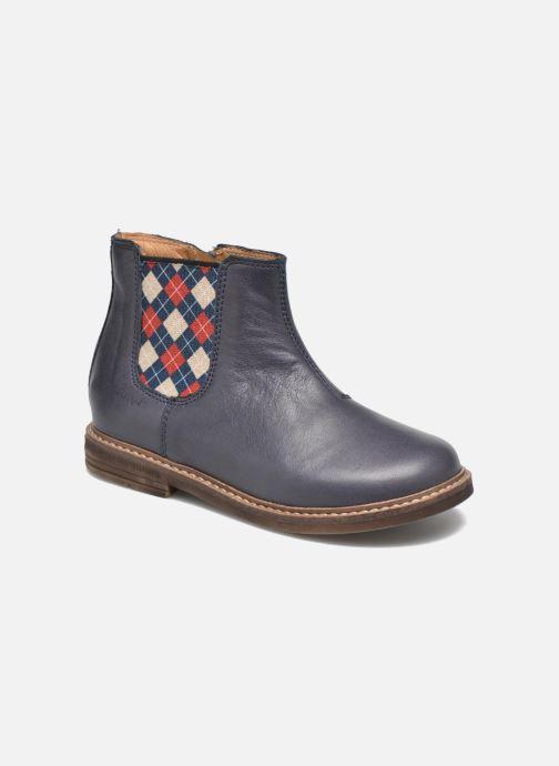 Stiefeletten & Boots Pom d Api Retro Jodzip blau detaillierte ansicht/modell