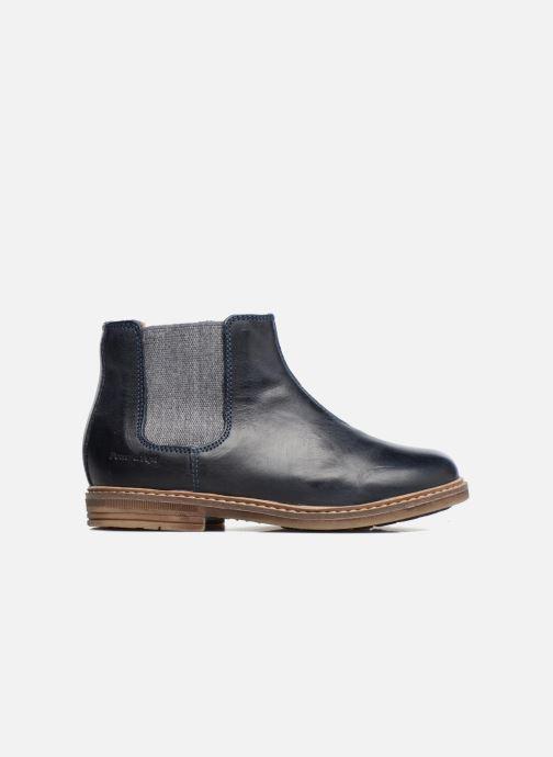 Bottines et boots Pom d Api Retro Jodzip Bleu vue derrière