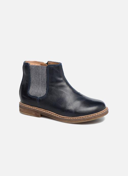 Bottines et boots Pom d Api Retro Jodzip Bleu vue détail/paire