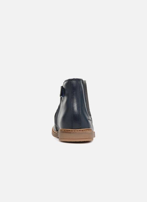 Boots en enkellaarsjes Pom d Api Retro Jodzip Blauw rechts
