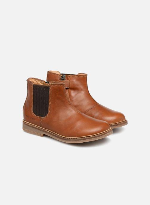 Boots Pom d Api Retro Jodzip Brun 3/4 bild