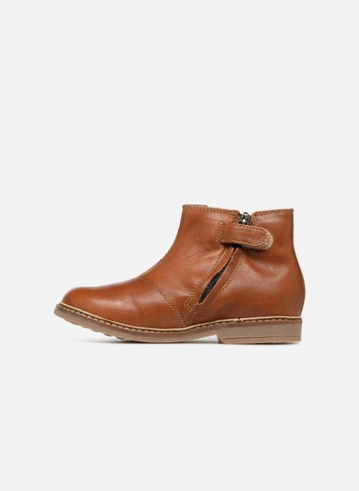 Boots Pom d Api Retro Jodzip Brun bild från framsidan