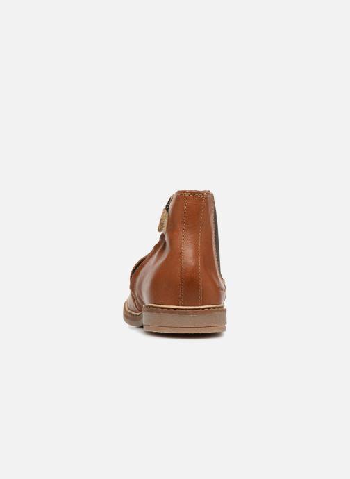 Bottines et boots Pom d Api Retro Jodzip Marron vue droite