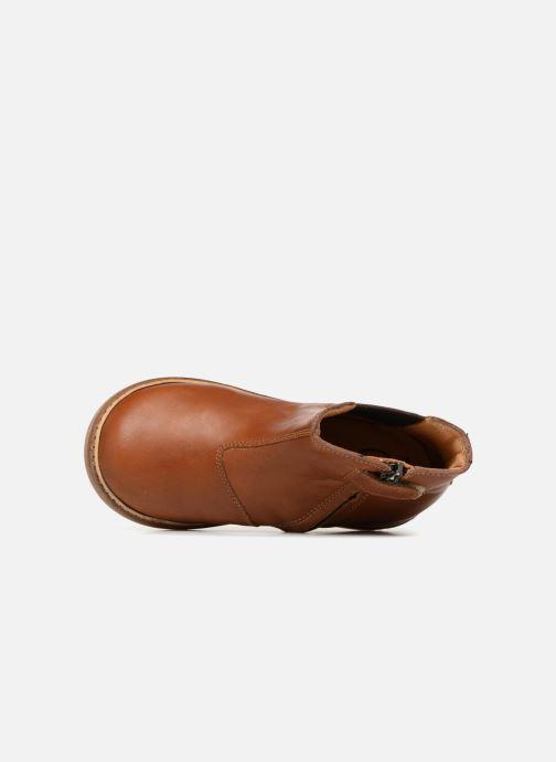Bottines et boots Pom d Api Retro Jodzip Marron vue gauche