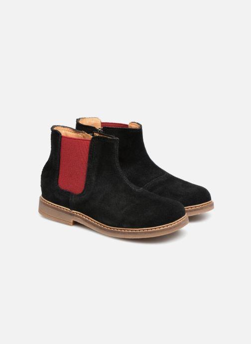 Bottines et boots Pom d Api Retro Jodzip Noir vue 3/4