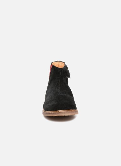 Botines  Pom d Api Retro Jodzip Negro vista del modelo
