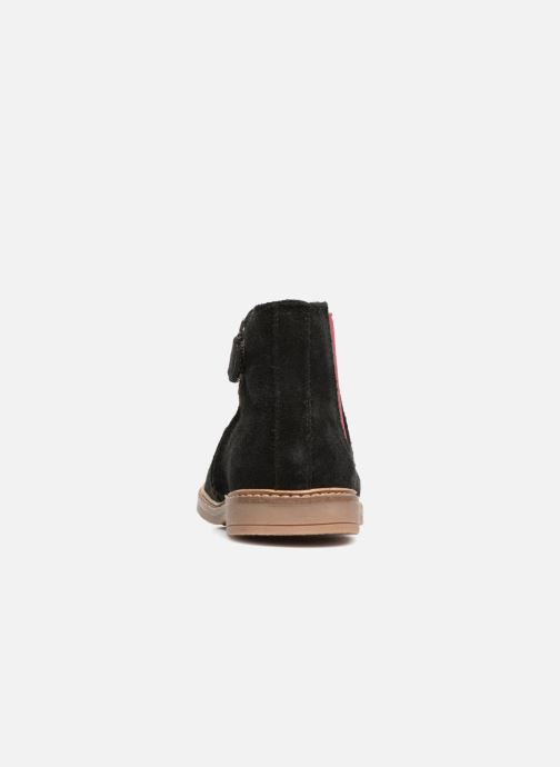 Bottines et boots Pom d Api Retro Jodzip Noir vue droite