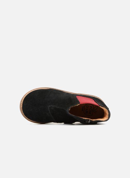 Bottines et boots Pom d Api Retro Jodzip Noir vue gauche
