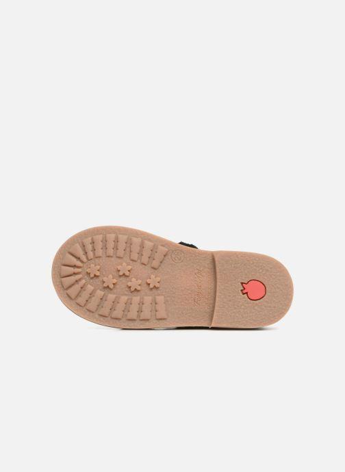 Bottines et boots Pom d Api Retro Jodzip Noir vue haut