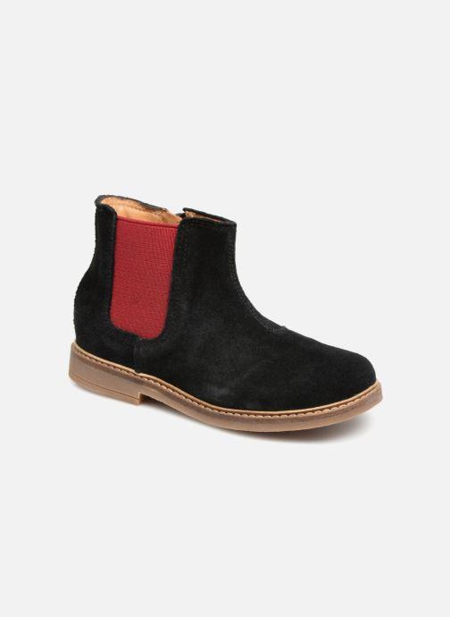 Bottines et boots Pom d Api Retro Jodzip Noir vue détail/paire
