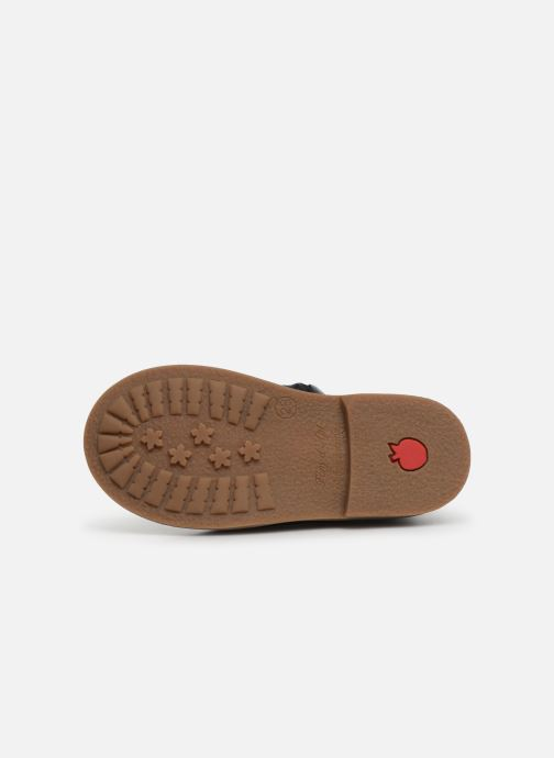 Bottines et boots Pom d Api Retro Jodzip Bleu vue haut