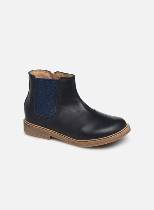 Ankle boots Pom d Api Retro Jodzip Blue detailed view/ Pair view