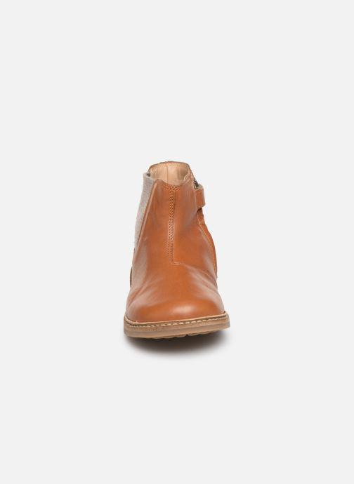 Boots en enkellaarsjes Pom d Api Retro Jodzip Bruin model