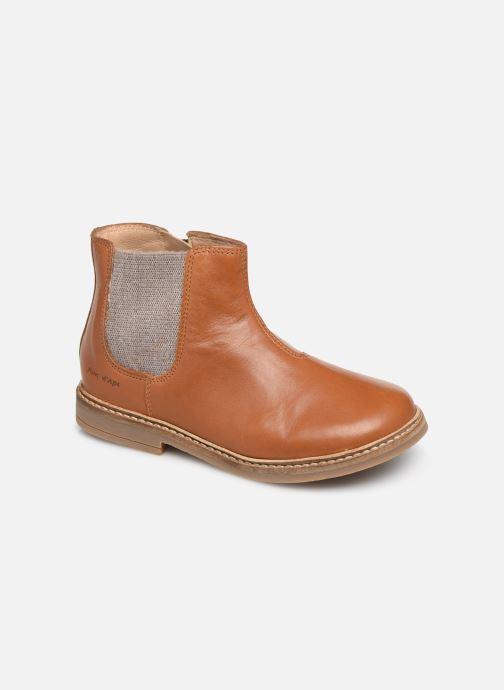 Stiefeletten & Boots Pom d Api Retro Jodzip braun detaillierte ansicht/modell