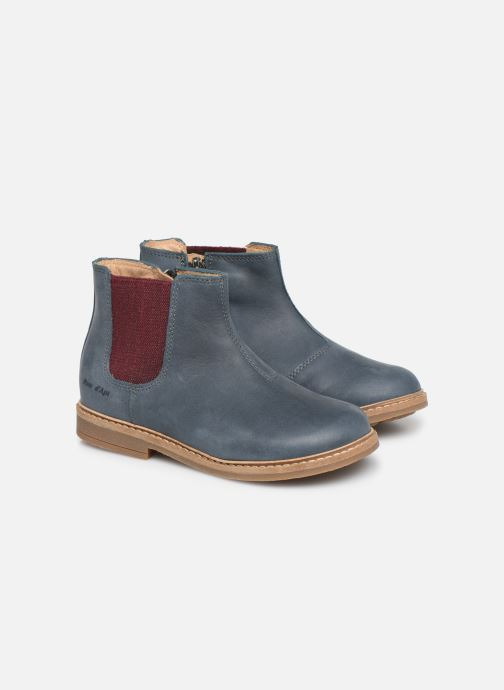 Boots en enkellaarsjes Pom d Api Retro Jodzip Blauw 3/4'