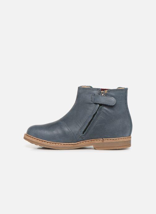 Bottines et boots Pom d Api Retro Jodzip Bleu vue face