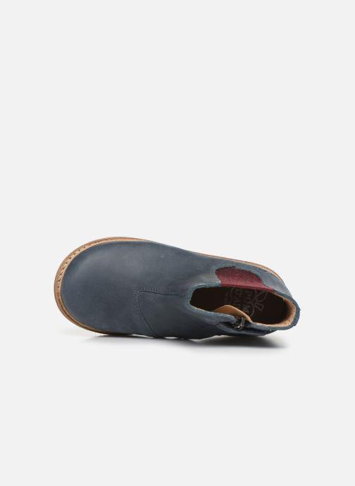 Bottines et boots Pom d Api Retro Jodzip Bleu vue gauche