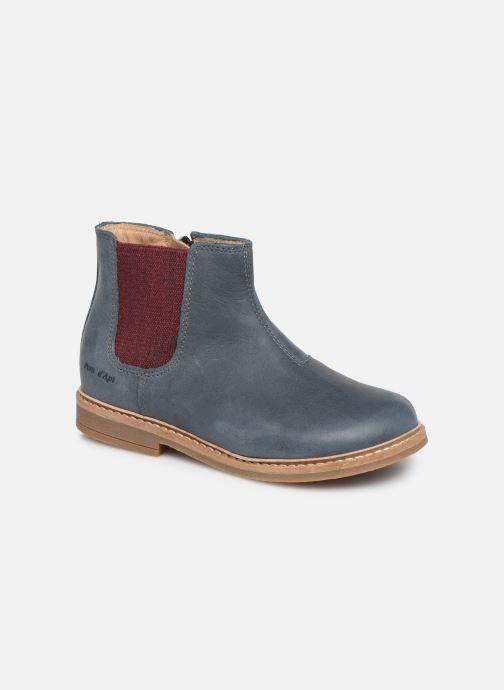 Boots en enkellaarsjes Pom d Api Retro Jodzip Blauw detail