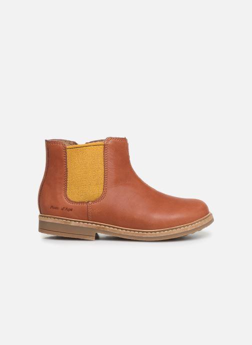 Boots en enkellaarsjes Pom d Api Retro Jodzip Bruin achterkant