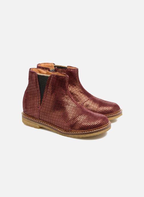 Bottines et boots Pom d Api Suzet Boots Bordeaux vue 3/4