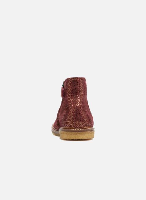 Botines  Pom d Api Suzet Boots Vino vista lateral derecha