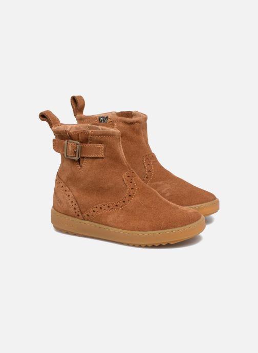 Boots en enkellaarsjes Pom d Api Wouf Boots Bruin 3/4'