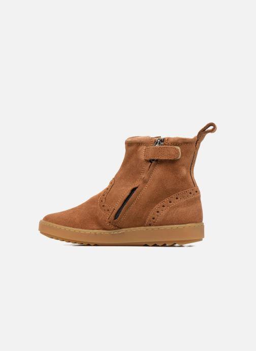 Stiefeletten & Boots Pom d Api Wouf Boots braun ansicht von vorne