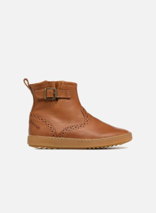 Ankle boots Pom d Api Wouf Boots Brown back view