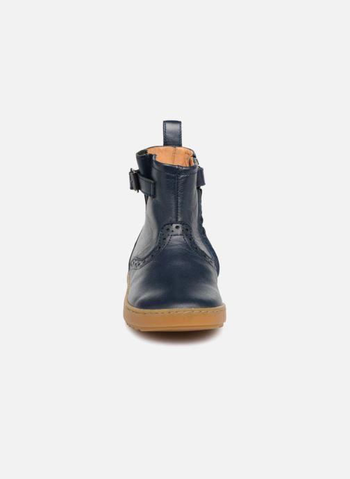 Bottines et boots Pom d Api Wouf Boots Bleu vue portées chaussures