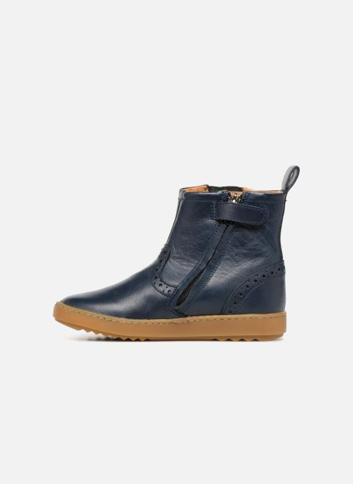Ankle boots Pom d Api Wouf Boots Blue front view