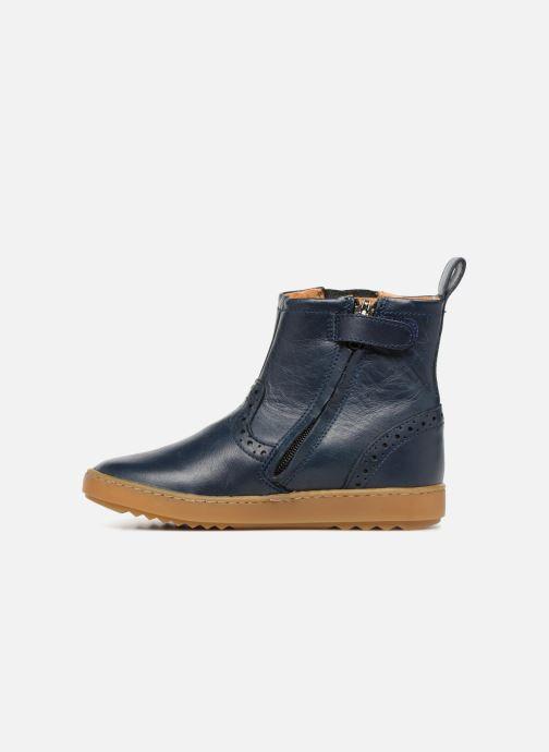 Bottines et boots Pom d Api Wouf Boots Bleu vue face