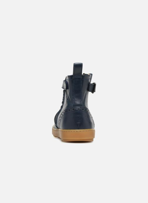 Ankle boots Pom d Api Wouf Boots Blue view from the right