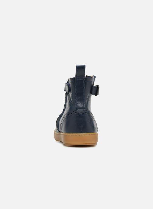 Boots en enkellaarsjes Pom d Api Wouf Boots Blauw rechts