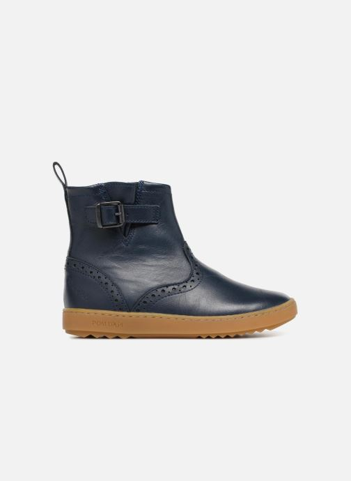 Ankle boots Pom d Api Wouf Boots Blue back view