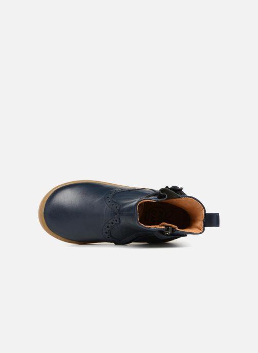 Bottines et boots Pom d Api Wouf Boots Bleu vue gauche