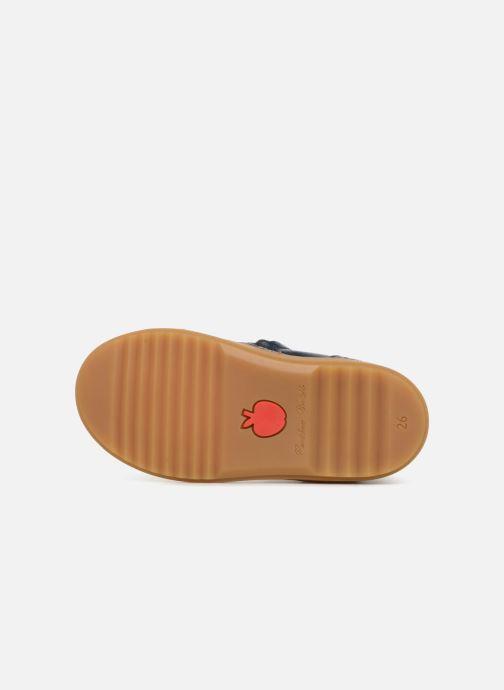 Bottines et boots Pom d Api Wouf Boots Bleu vue haut