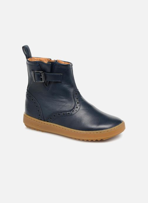 Ankle boots Pom d Api Wouf Boots Blue detailed view/ Pair view