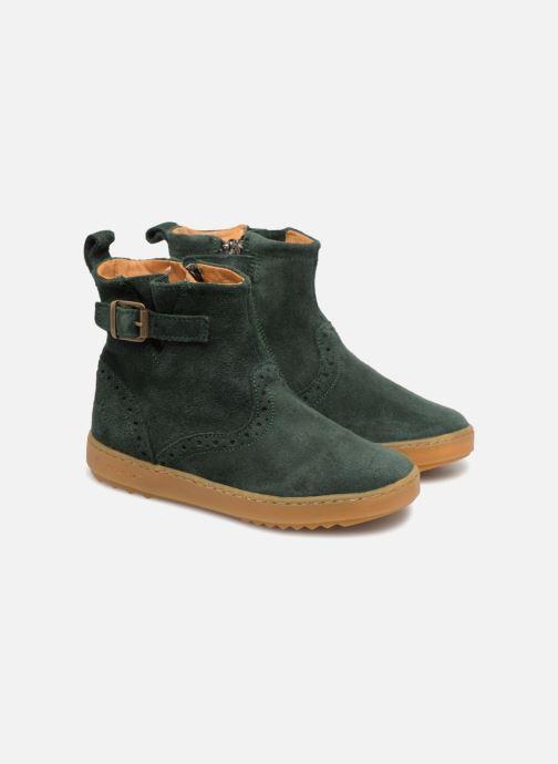 Bottines et boots Pom d Api Wouf Boots Vert vue 3/4