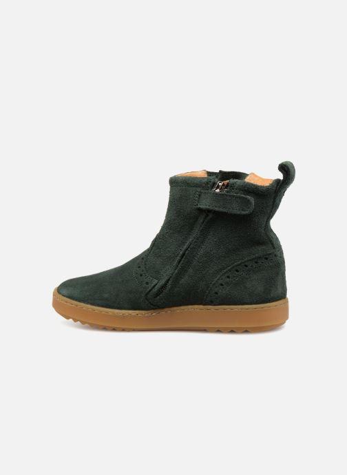 Botines  Pom d Api Wouf Boots Verde vista de frente