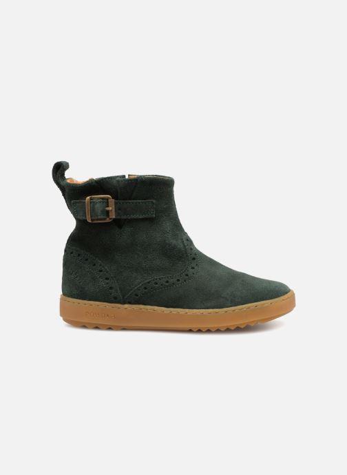 Boots en enkellaarsjes Pom d Api Wouf Boots Groen achterkant