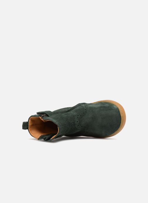 Botines  Pom d Api Wouf Boots Verde vista lateral izquierda