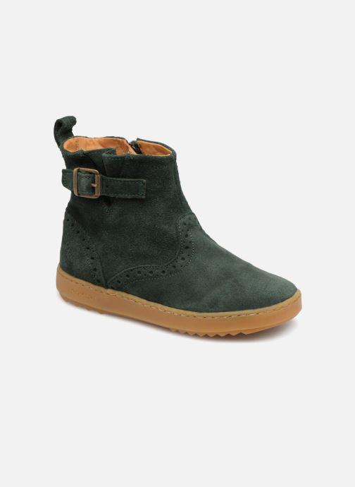 Boots en enkellaarsjes Pom d Api Wouf Boots Groen detail