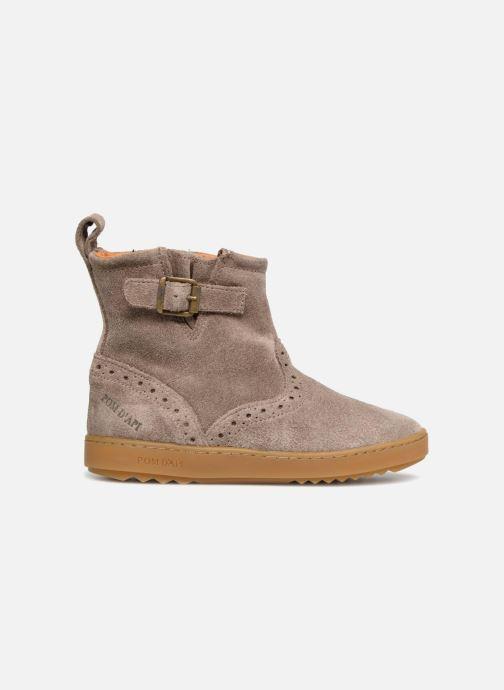 Boots en enkellaarsjes Pom d Api Wouf Boots Bruin achterkant