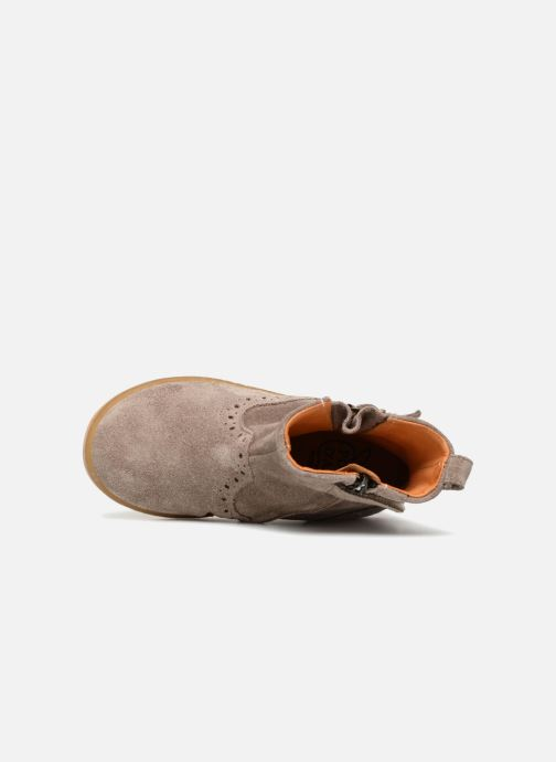 Boots en enkellaarsjes Pom d Api Wouf Boots Bruin links