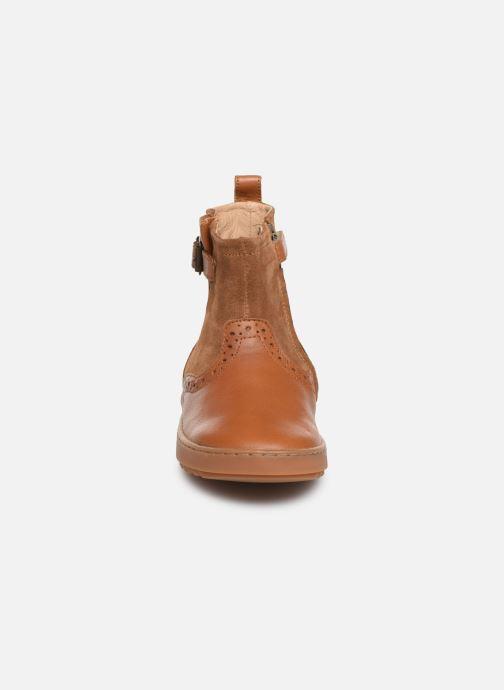 Botines  Pom d Api Wouf Boots Marrón vista del modelo