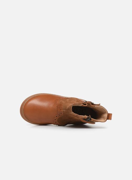 Stivaletti e tronchetti Pom d Api Wouf Boots Marrone immagine sinistra