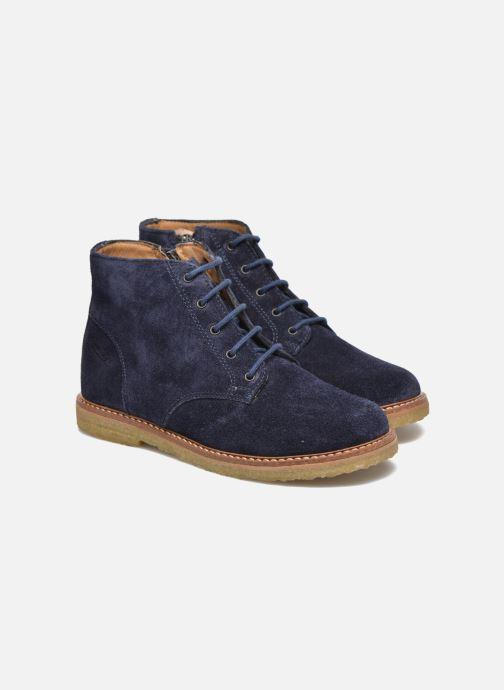 Boots en enkellaarsjes Pom d Api Pat Brogue Blauw 3/4'