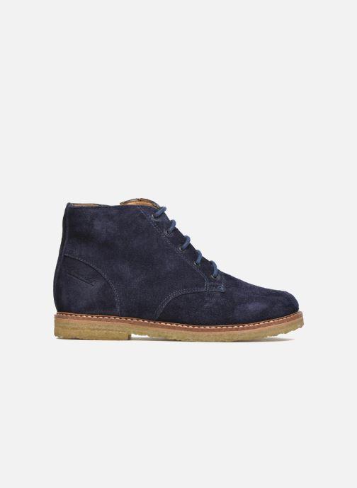 Boots en enkellaarsjes Pom d Api Pat Brogue Blauw achterkant